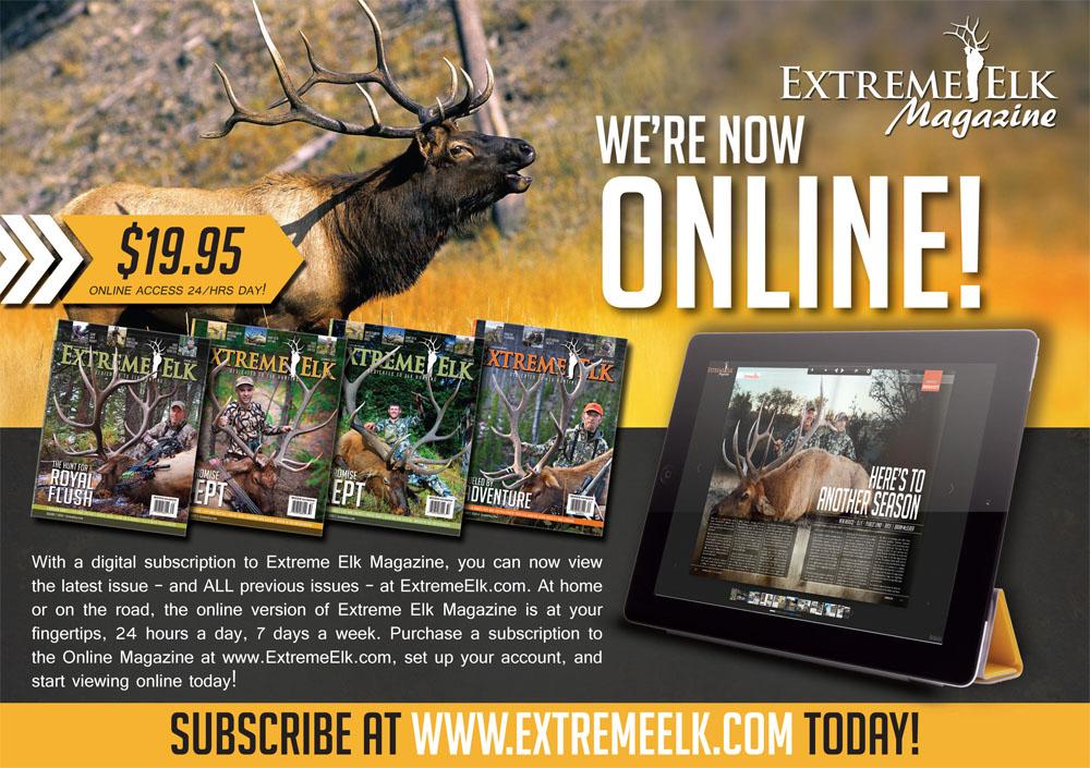 Extreme Elk Magazine Hunting Ad Design
