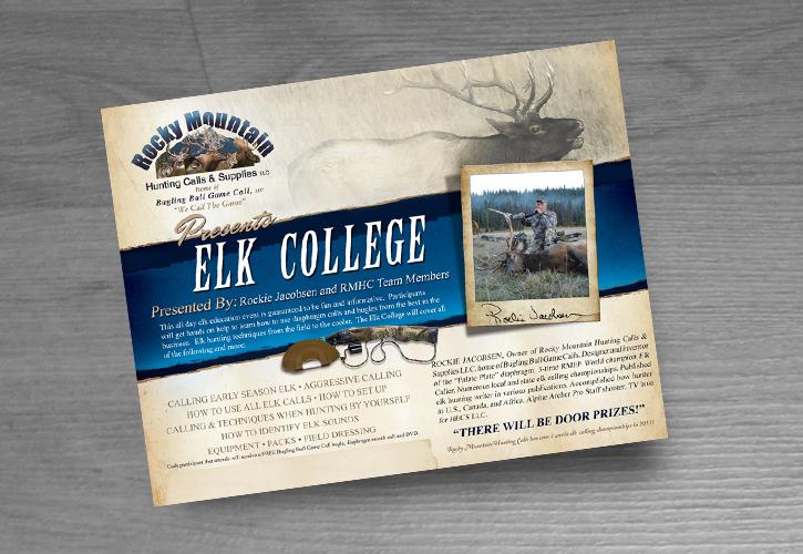 Bugling-Bull-Game-Calls-Elk-College-Hunting-Ad-Design