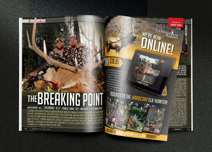 Extreme-Elk-Magazine-Full-Page-Print-Ad-Design-Display-Front