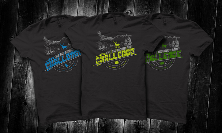 NW-mountain-challenge-triple-crown-bowhunting-archery-shirt-design