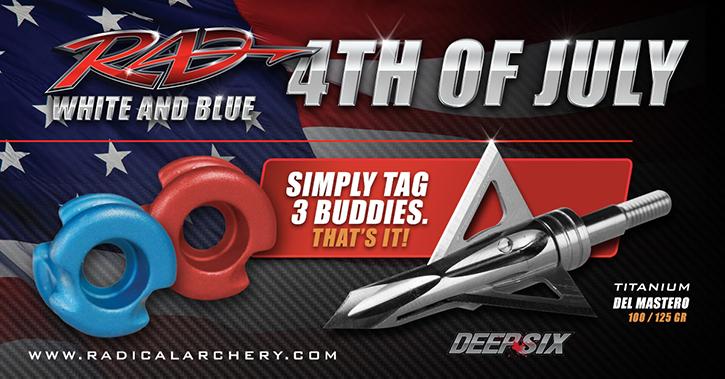 Radical-archery-bowhunting-broadhead-4th-of-july-social-media-ad