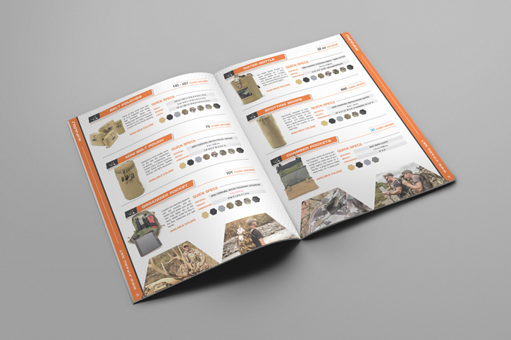 Kifaru-outdoor-product-catalog-design