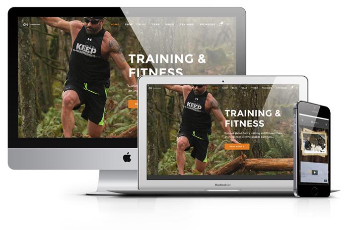 Cameron-hanes-under-armour-athlete-hunting-website-design