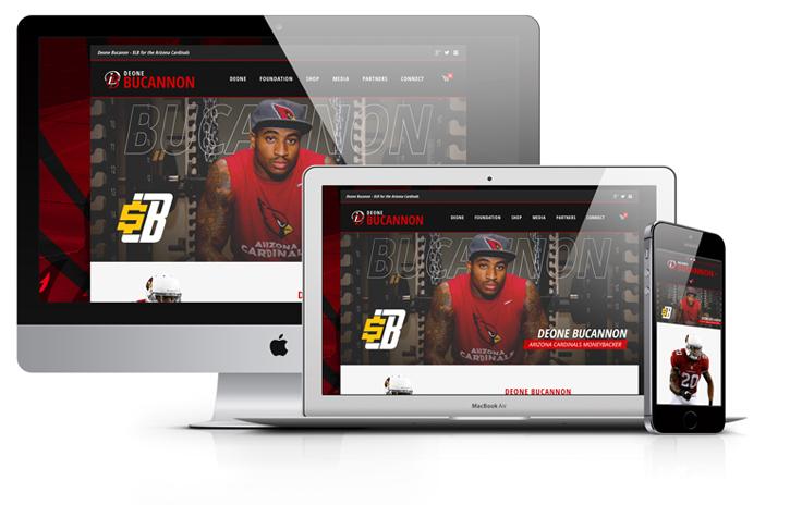 Deone-bucannon-arizona-cardinals-football-website-design