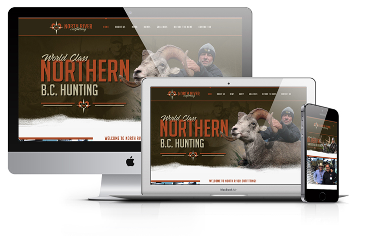 North-river-outfitting-hunting-website-design-mock