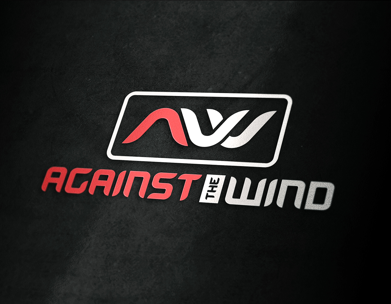 Against The Wind Hunting Outdoor Logo Design