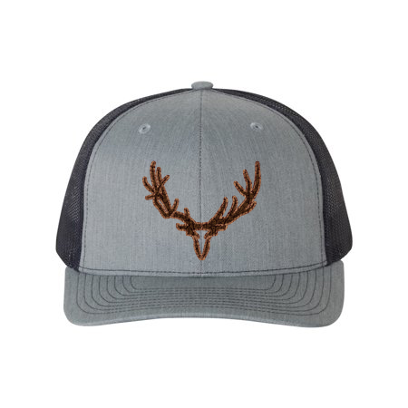 Angry Mountain Productions DELK Leather Patch Hat Desgin