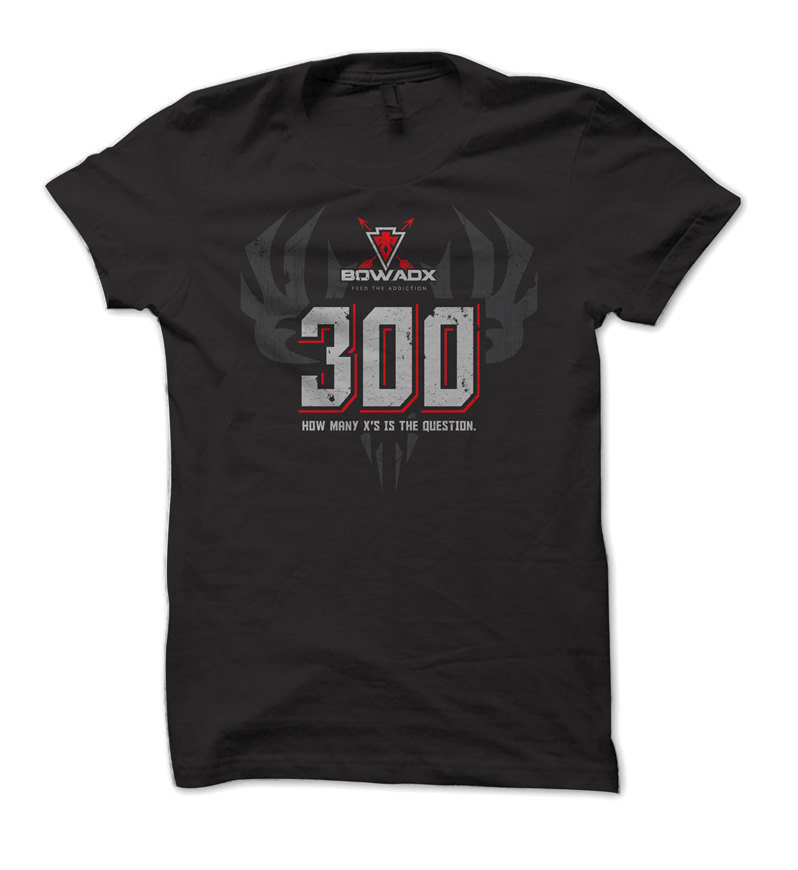 BOWADX 300 Archery T Shirt Design
