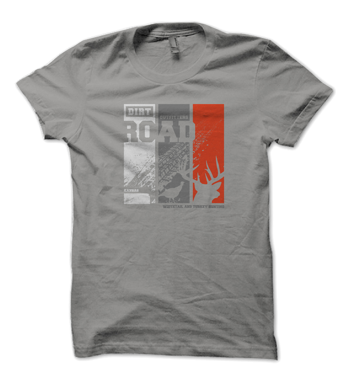Dirt Road Outfitters Whitetail Turkey Lifestyle Tee Design