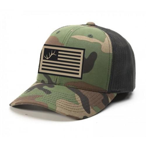 FDFT Camo Flag Hat