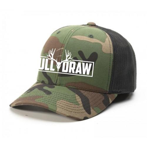 FDFT Mule Deer Label Bowhunting Hat Design