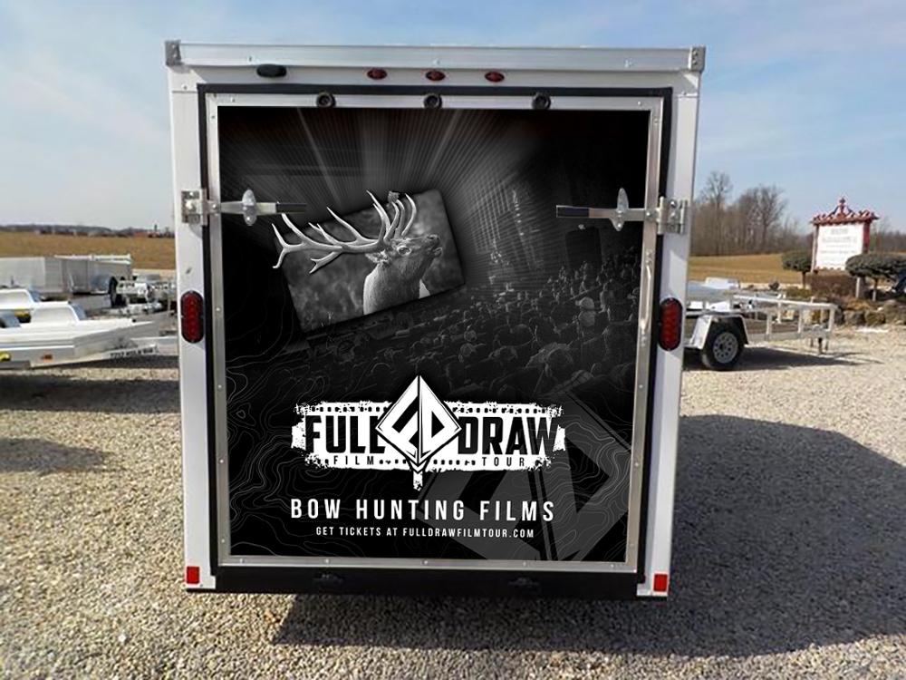 Full Draw Film Tour Bowhunting Trailer Design