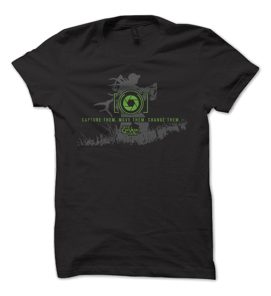 Full Draw Film Tour Photography Outdoor Shirt Design