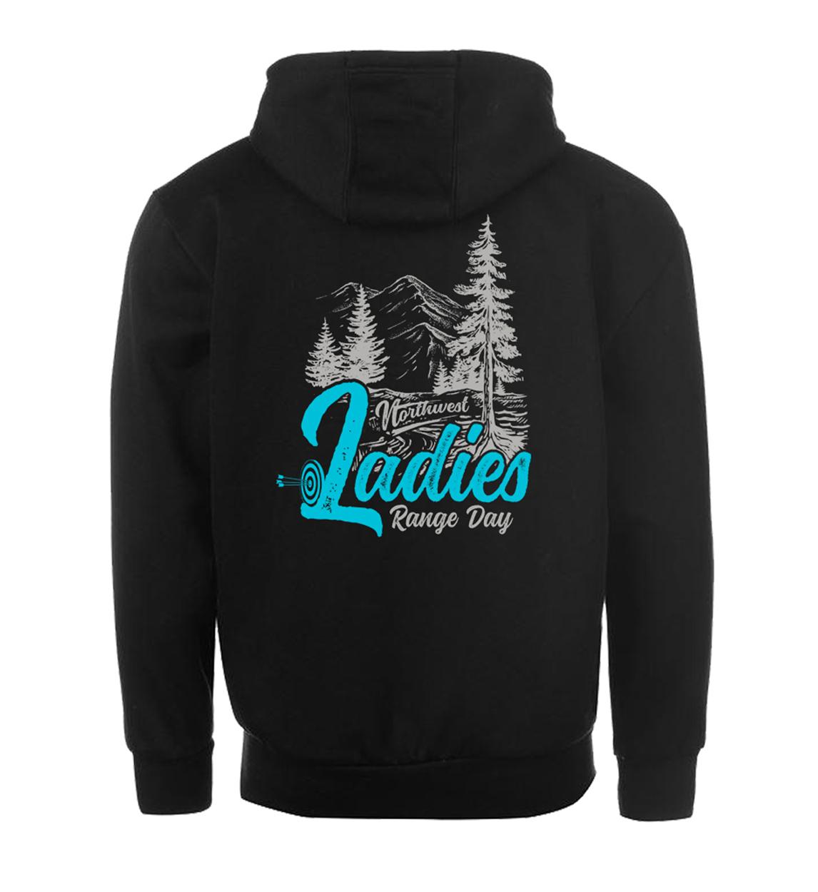 NW Ladies Range Day Archery Sweatshirt Desgin