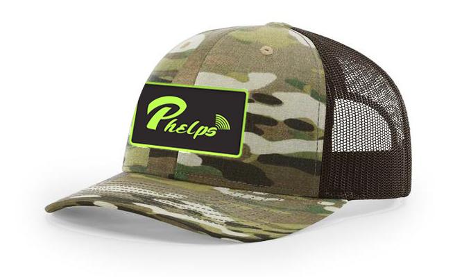 Phelps Logo Multicam Richardson 112 Hat Design