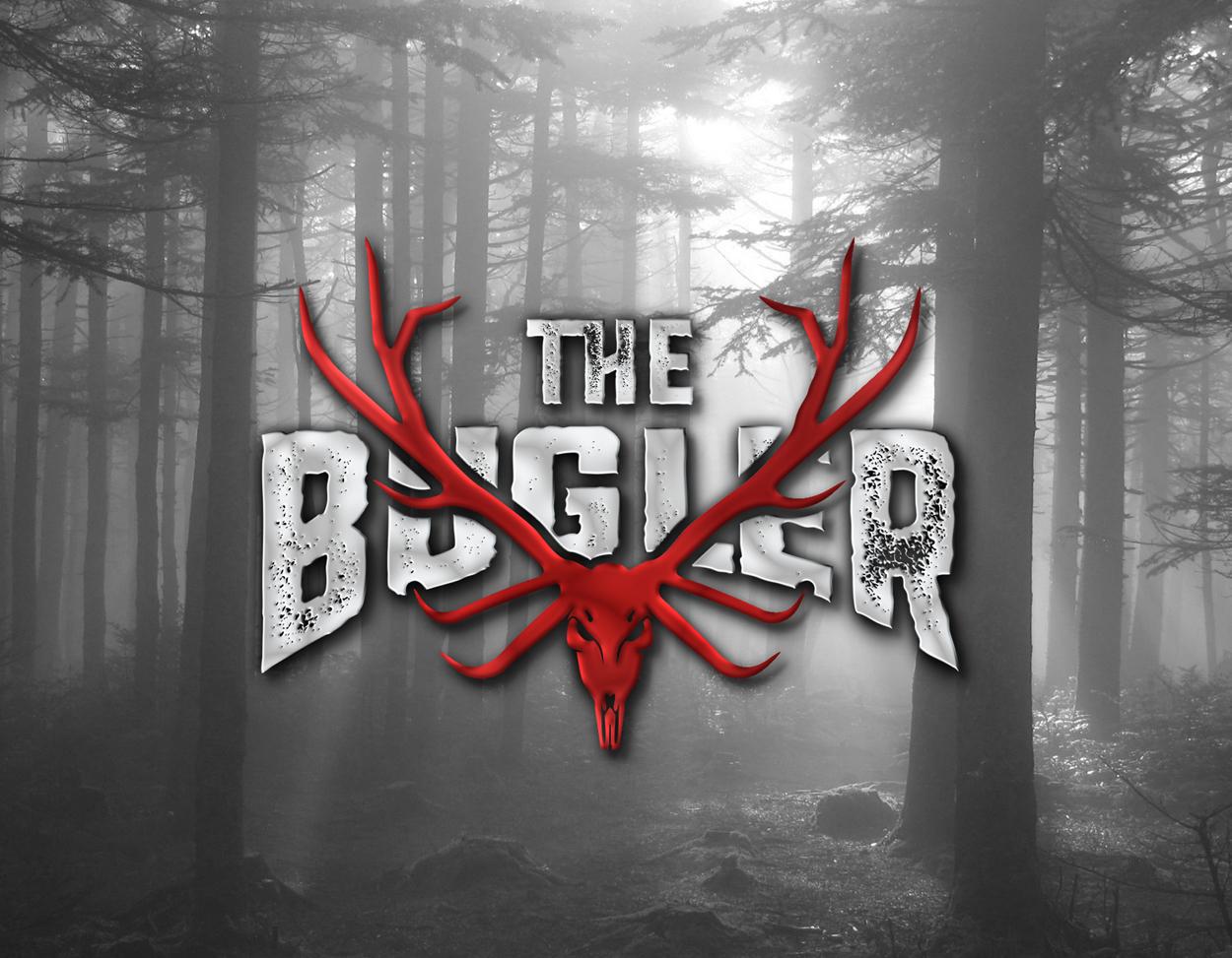 The Bugler Brand Youtube Outdoor Hunting Elk Logo Design