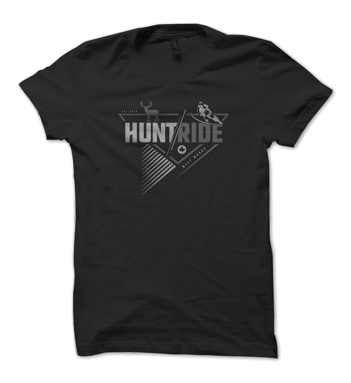 West Woods Motocross Hunting Shirt Design